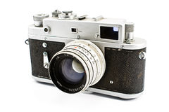 Vintage film photo camera Royalty Free Stock Photo