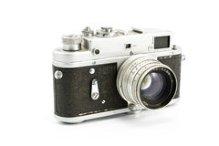Vintage film photo camera Royalty Free Stock Image