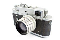 Vintage film photo camera Royalty Free Stock Photos