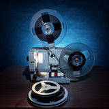 Vintage Film Projector Royalty Free Stock Images