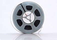 Vintage film reel Stock Photos