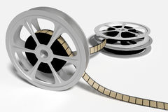 Vintage film roll Royalty Free Stock Photo