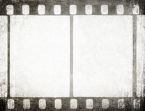 Vintage film strip. Grunge background Royalty Free Stock Image