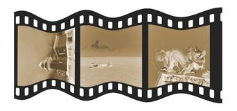 Vintage Film Strip Royalty Free Stock Photo