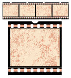 Vintage Film Strip. Detailed vintage grunge film that can be reproduced to any length - VECTOR Stock Photography