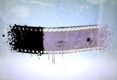 Vintage film strip for banner or frame Royalty Free Stock Photos