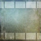 Vintage film strip frame. On glass Stock Images