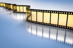 Vintage film strip. An image of a vintage film strip Stock Photos