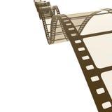 Vintage film strip. An image of a vintage film strip background Stock Photography