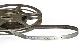 Vintage Film Strip and Reel. A Vintage Film Strip and Reel Stock Image