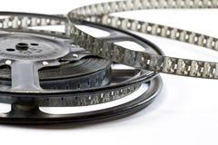 Vintage Film Strip and Reel. Hollywood Vintage Film Strip and Reel Stock Image