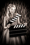 Vintage filmaker Stock Photography