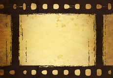 Vintage filmstrip Stock Image
