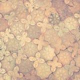 Vintage filter, stone brick floor texture Royalty Free Stock Photos