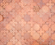vintage filter, stone brick floor texture Royalty Free Stock Image