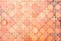 vintage filter, stone brick floor texture Royalty Free Stock Photography