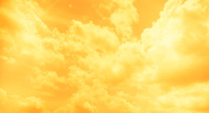 Vintage filter : Sun burst ray with cloudy and sky Stock Images