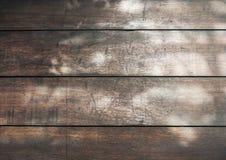 Wood pattern with sun light. Vintage filter wood pattern with sun light shadow Royalty Free Stock Photos
