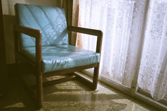 Vintage filtered armchair,interior concept. Stock Photography