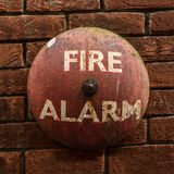 Vintage Fire Alarm Bell Royalty Free Stock Photography