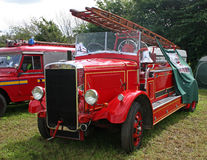 Vintage fire engine Royalty Free Stock Photography