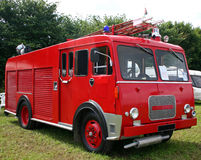 Vintage fire engine Royalty Free Stock Images