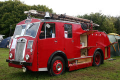 Vintage fire engine Stock Photography