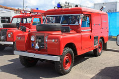 Vintage fire engine Royalty Free Stock Image