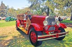 Vintage Fire Engine Stock Image