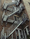 Vintage Fire Escape Royalty Free Stock Image