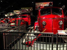 Vintage Fire Trucks Stock Photography