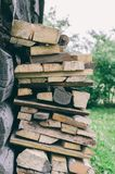 Vintage Fire Wood stock photo