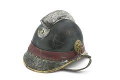 Vintage fireman helmet Royalty Free Stock Image