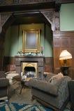 Vintage fireplace Royalty Free Stock Photo