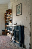 Vintage fireplace, Fort Clinch Stock Photos