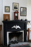 Vintage fireplace, Fort Clinch Stock Photography
