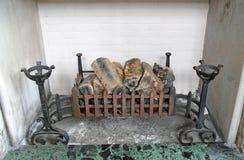 Vintage Fireplace. Stock Image