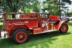 Vintage Firetruck Royalty Free Stock Photography