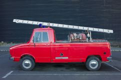 Vintage Firetruck. And old and tiny vintage firetruck Royalty Free Stock Photos