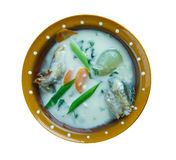 Vintage Fish soup in Galichyna Royalty Free Stock Image