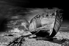 Vintage fishing boat. Stock Image