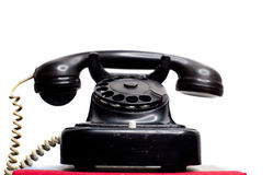 Vintage fixed land line telephone Stock Images