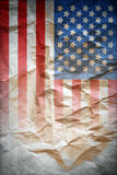 Vintage Flag Poster Royalty Free Stock Photography