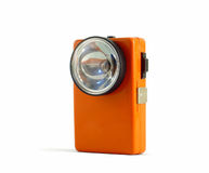 A vintage flashlight (Retro 02) Royalty Free Stock Photography