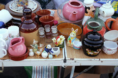 Vintage  flea market Royalty Free Stock Photos