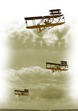 Vintage flight Stock Photos