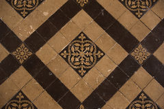 Vintage floor tiles Stock Photos