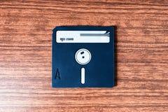 Vintage floppy disc background Stock Photos