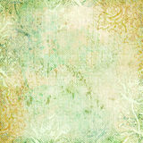 Vintage floral antique background theme Royalty Free Stock Photography
