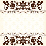 Vintage floral  background Stock Photography